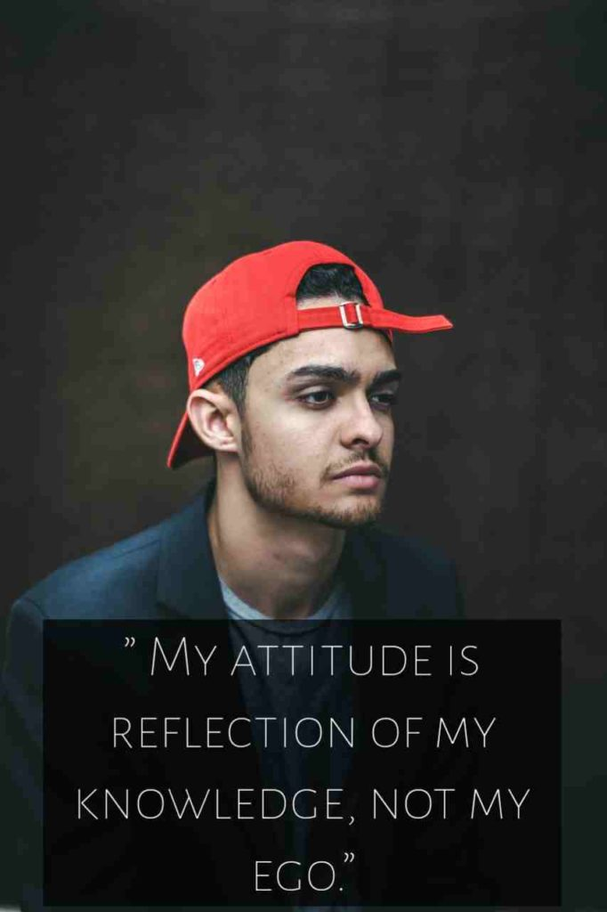 Royal attitude status in english