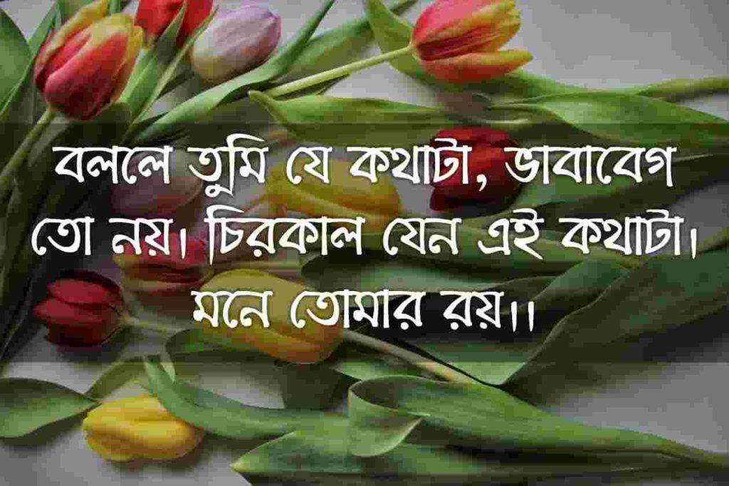 Love shayari in bengali for girlfriend