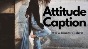 attitude caption