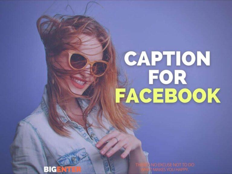 caption for fb
