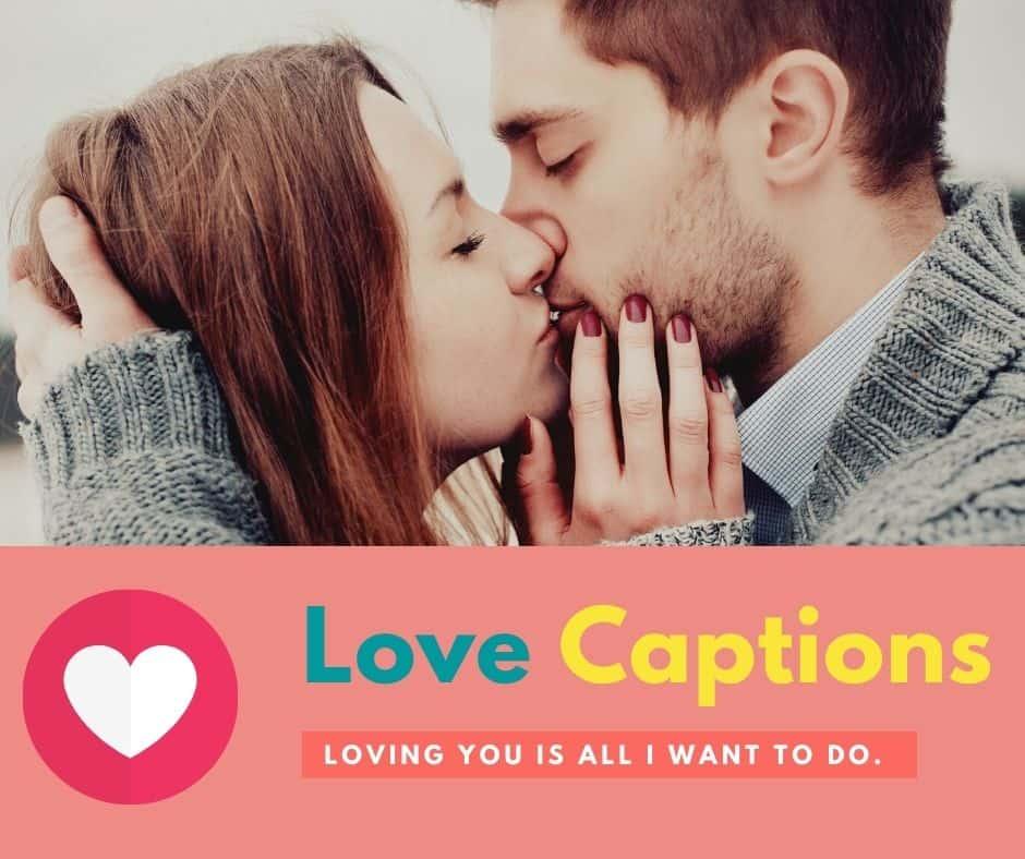 😝 caption love for fb