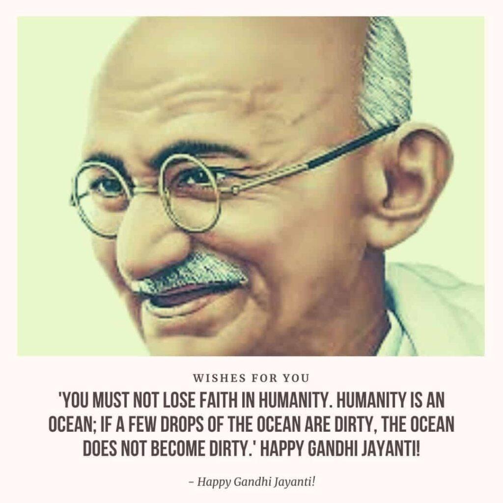 quotes for gandhi jayanti