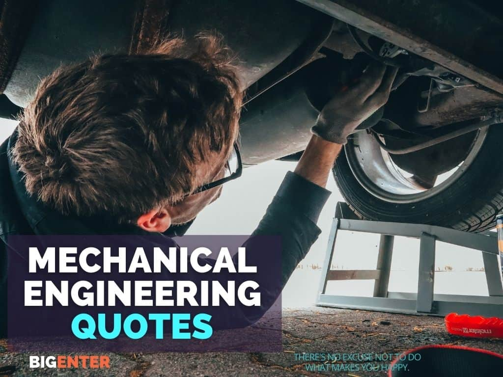 Mechanical engineering quotes