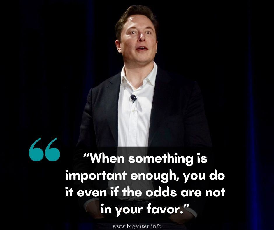 elon musk quotes about the future