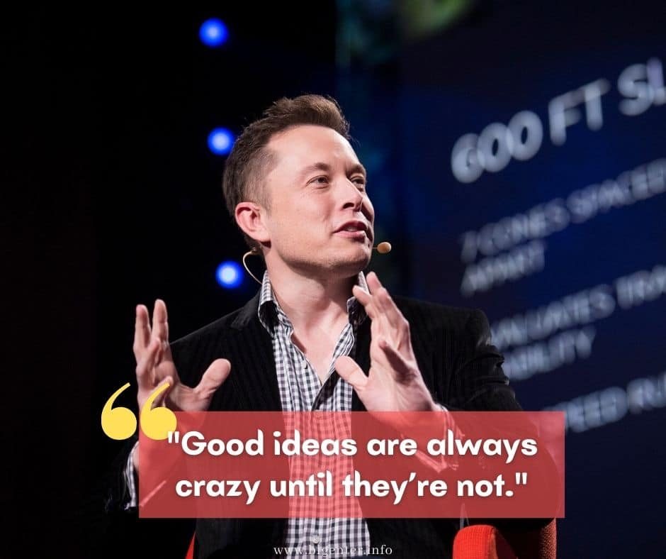 elon musk quotes for future