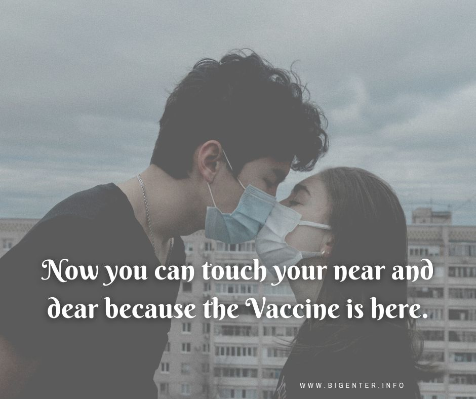 Quotes to take vaccine of covid-19