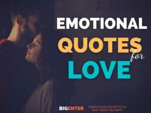Emotional Quotes for Love