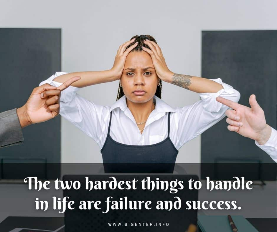 About Failure to Success Quotes