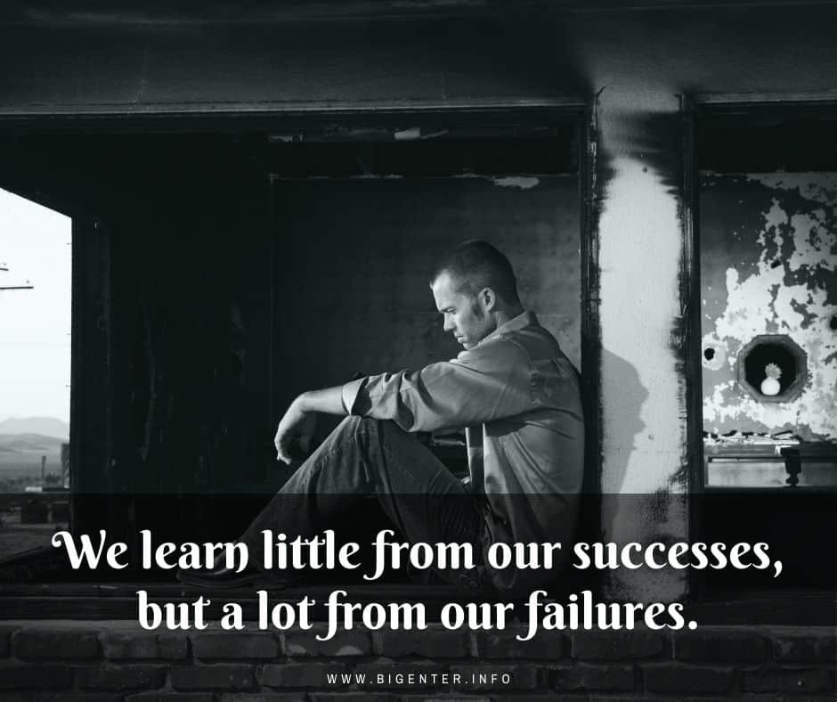 Best Failure to Success Quotes