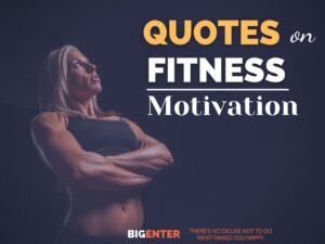 Quotes on Fitness Motivation