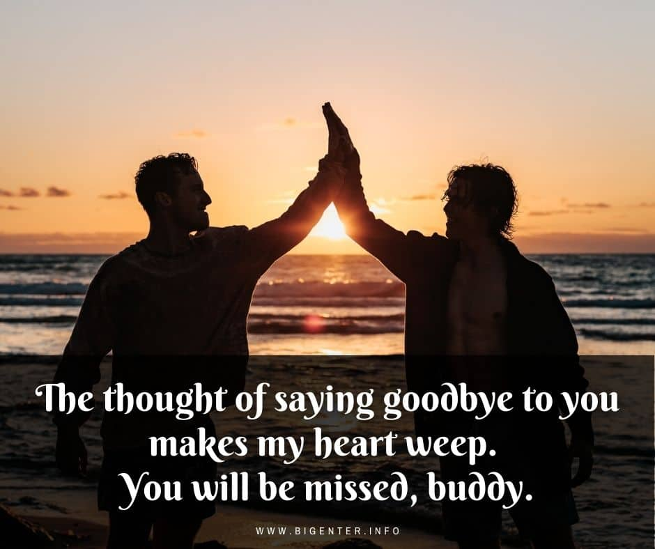 Quotes on Goodbye to Friend