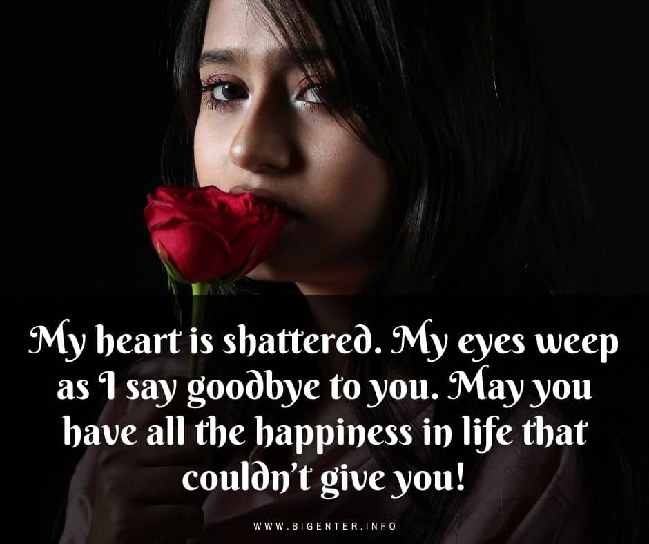Goodbye Quotes for Lover