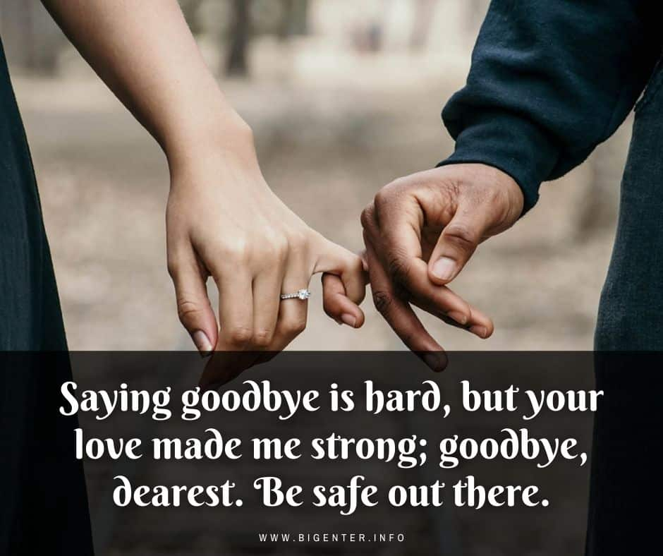 Quotes on Hard Goodbyes