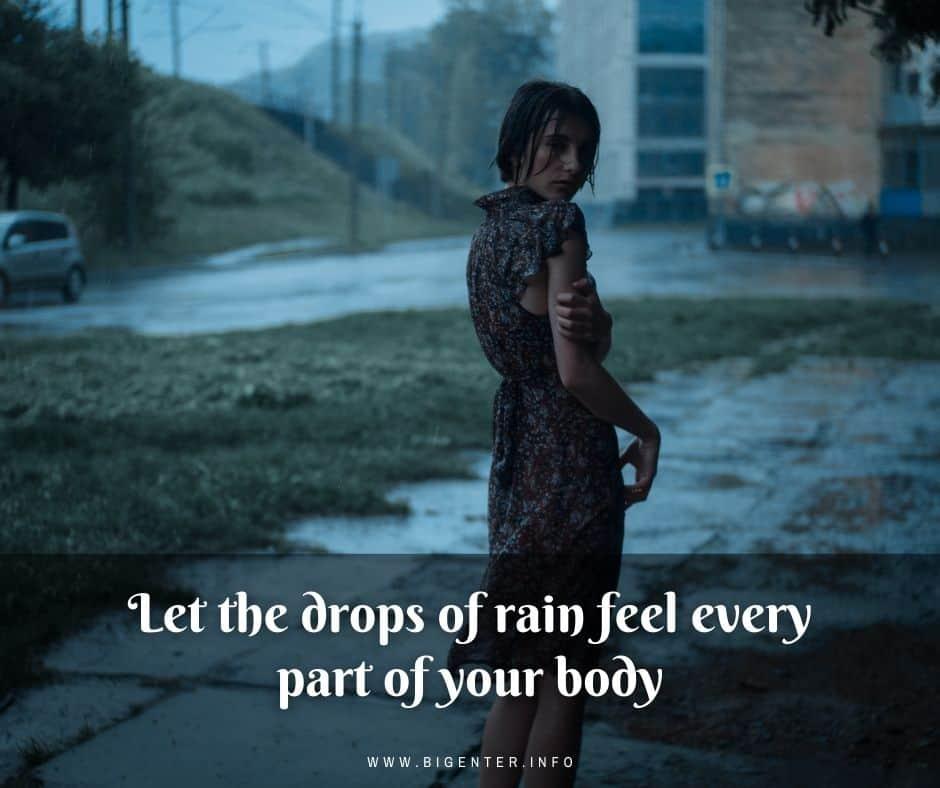Cute Rain Quotes