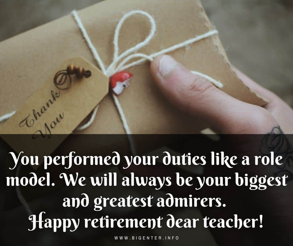 Retirement Quotes for a Teacher