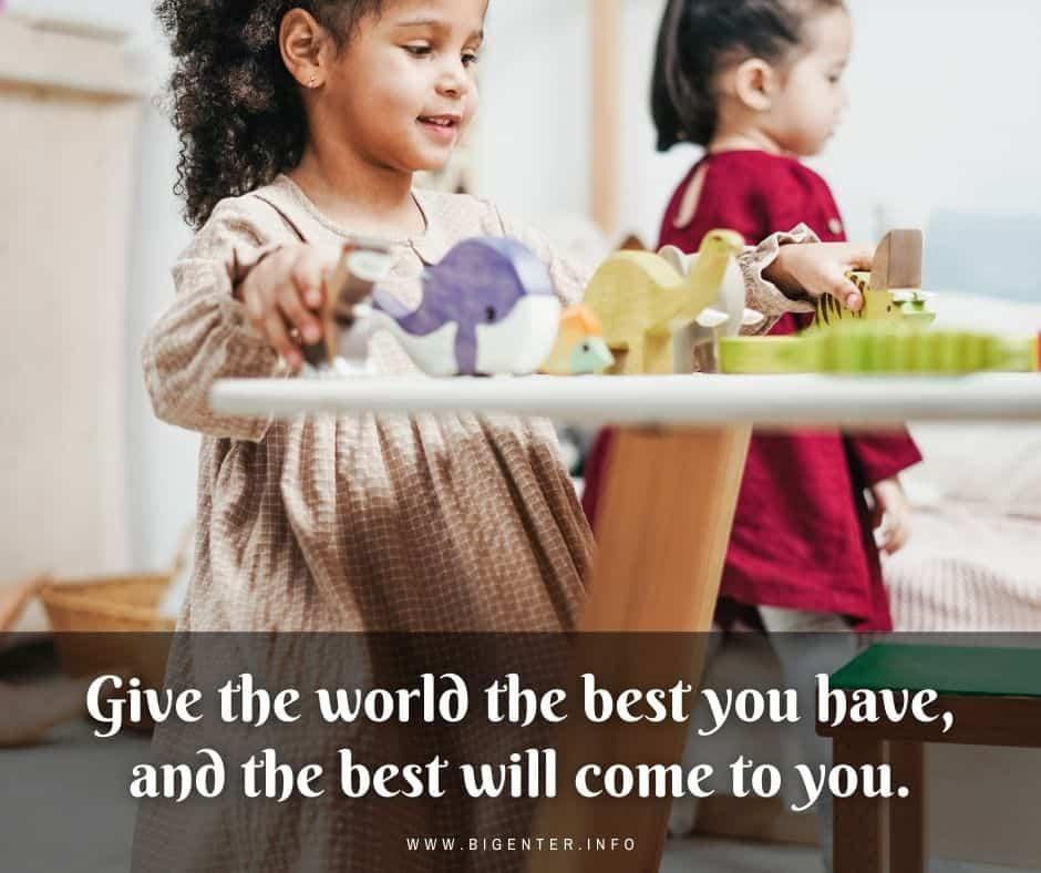 Positive Message for Children