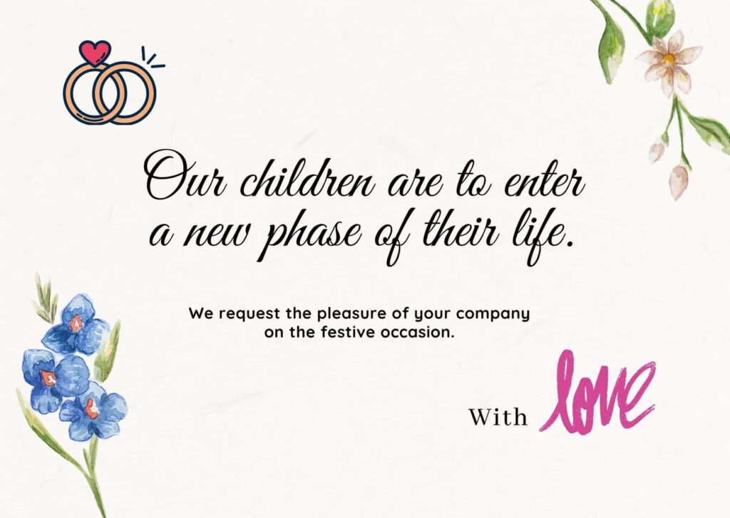 Wedding Invitation Quotes