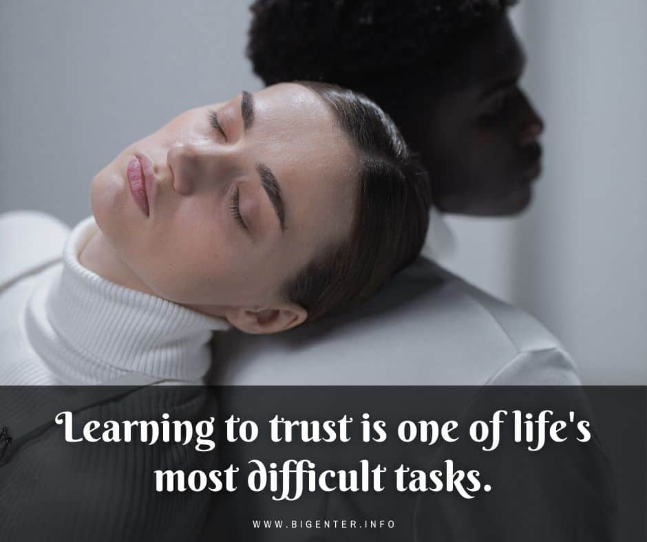 Quotes About Trust Issues in a Relationship