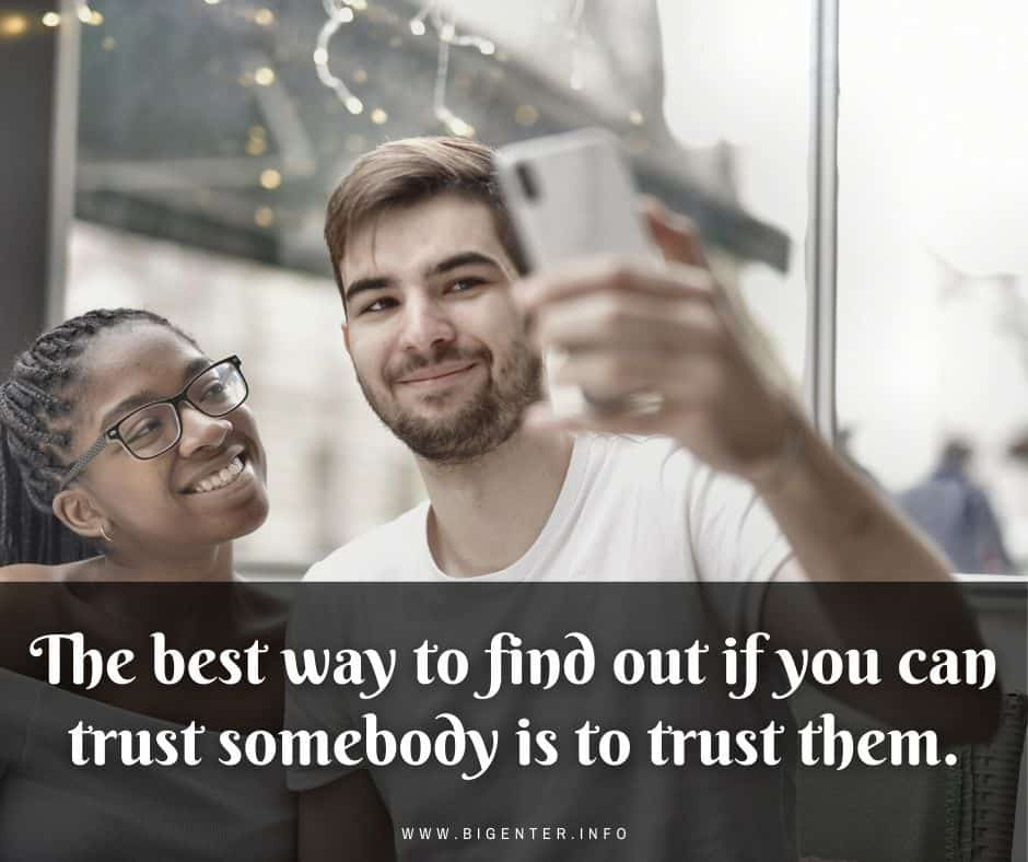 Quotes on Trust