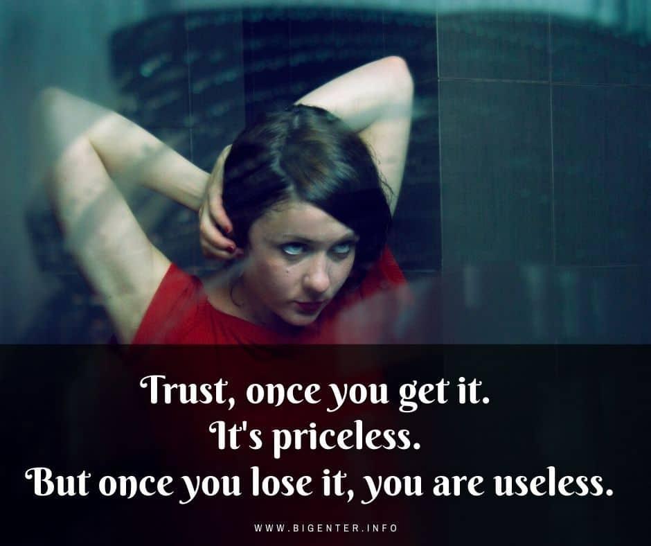 Broken Trust Quotes for Relationships