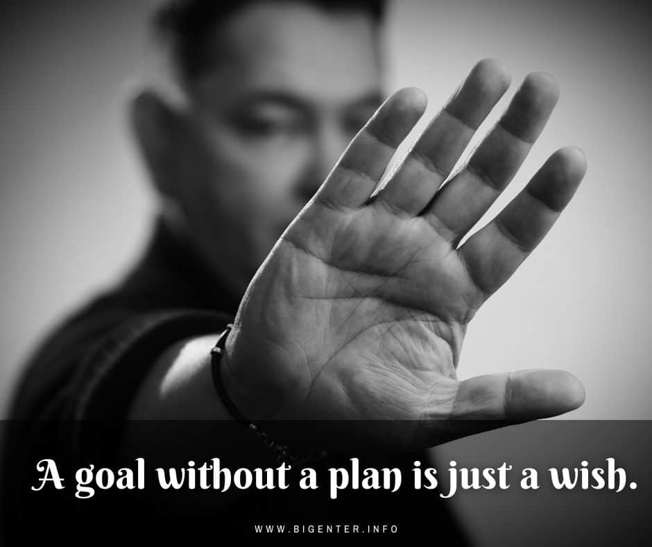 Thought of the Day on Goal