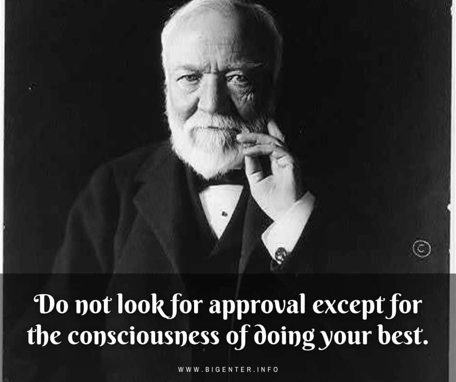 Inspiring Quotes of Andrew Carnegie