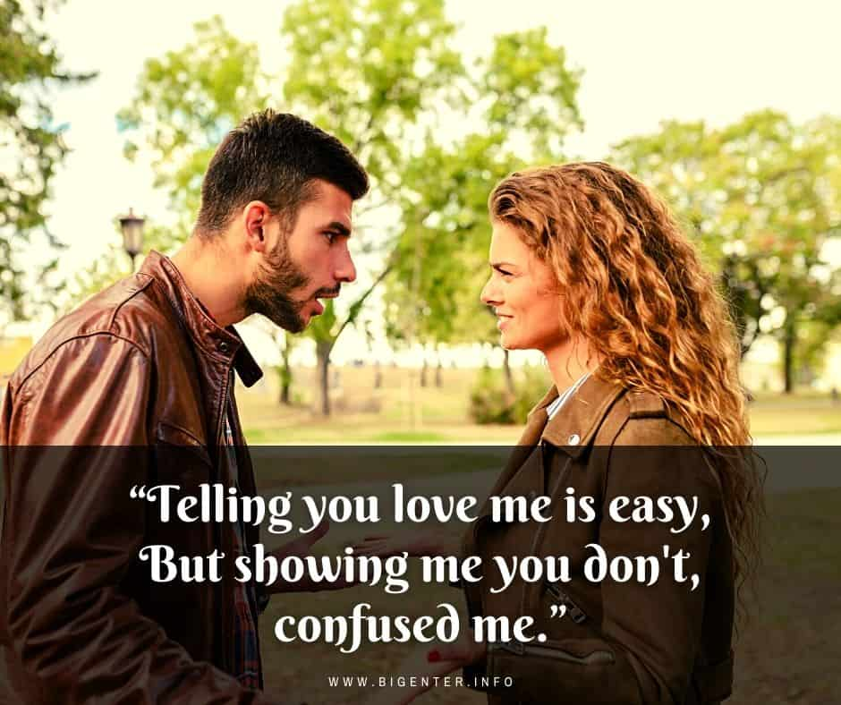 Quotes About Being Confused in Love