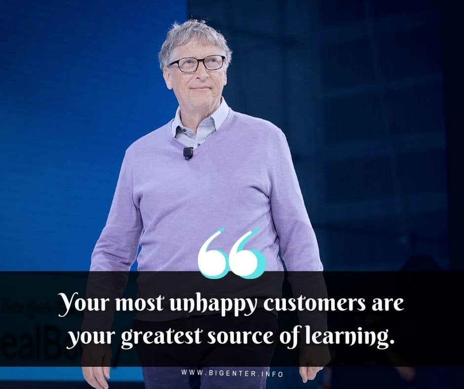 Bill Gates Quotes Business