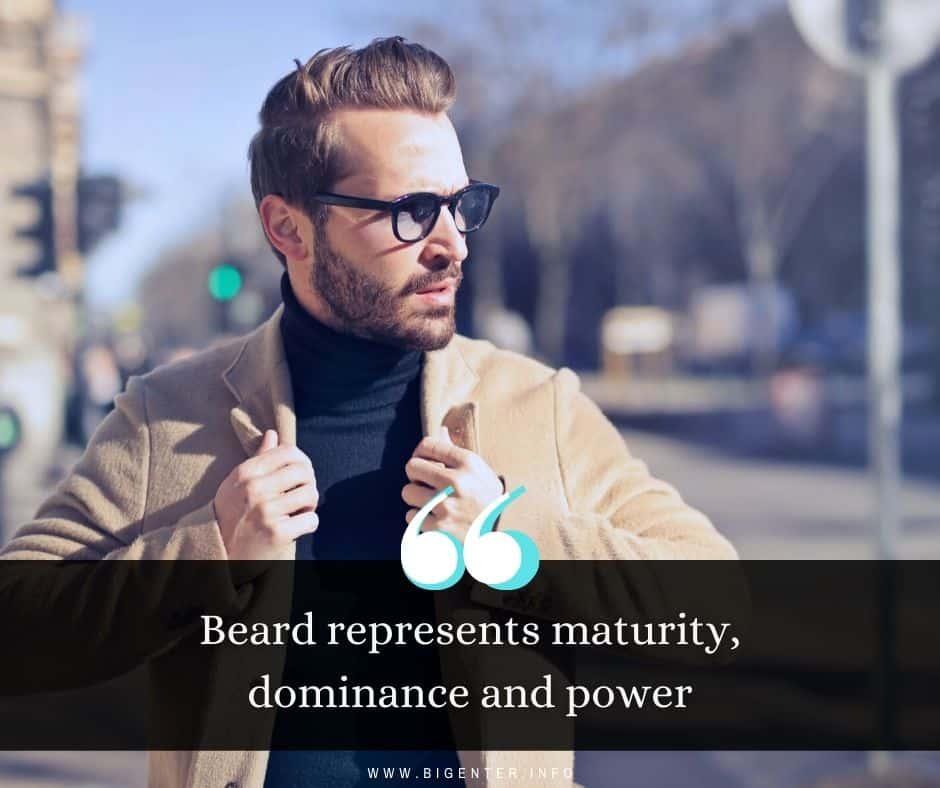 Captions on Beard