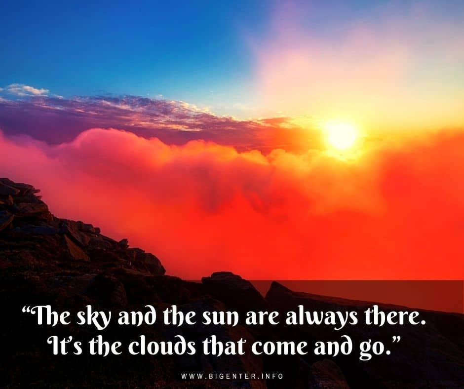 Cloud Quotes in English