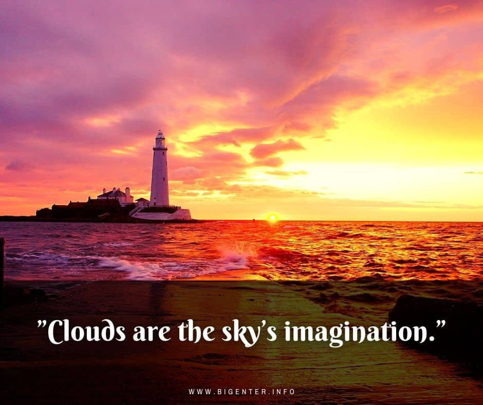 Cloud Quotes by Author