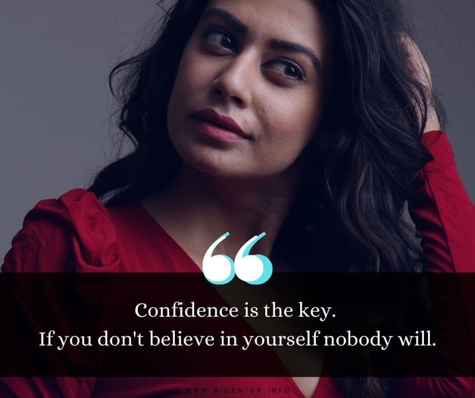 Woman With Confidence Quotes