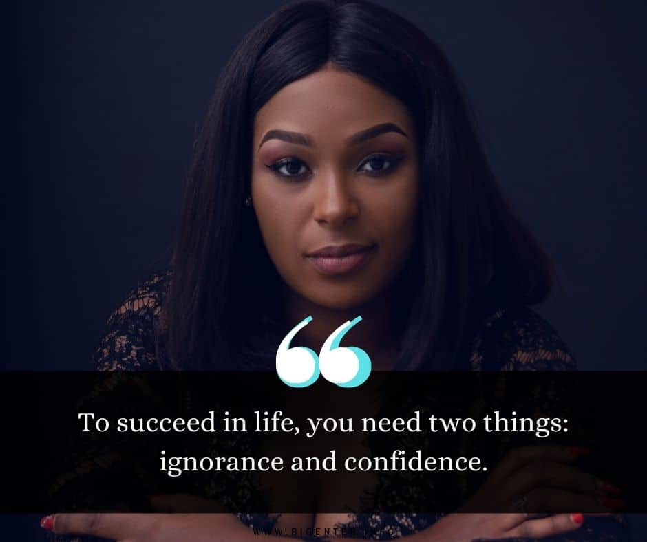 Confidence Quotes for Caption