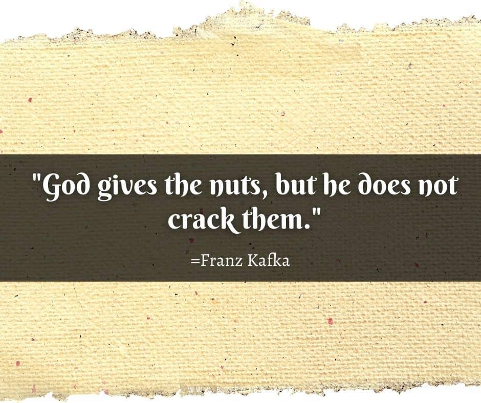 Franz Kafka Quotes Life