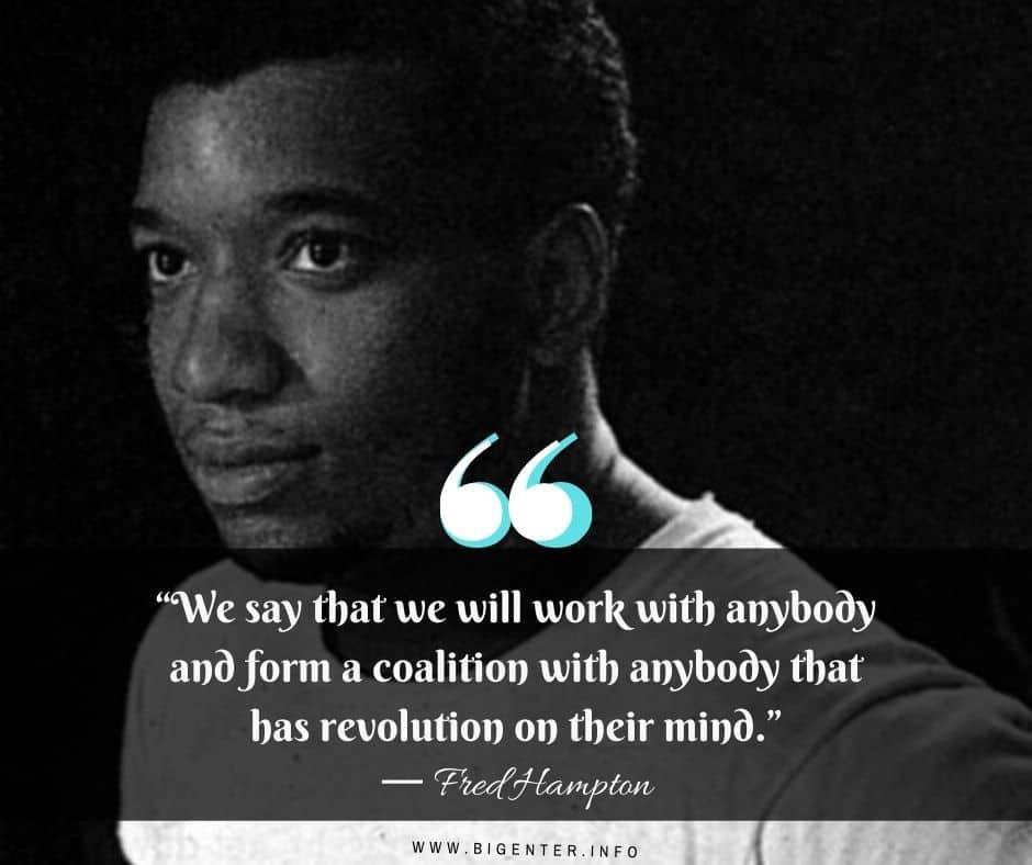 Fred Hampton Quotes Politics