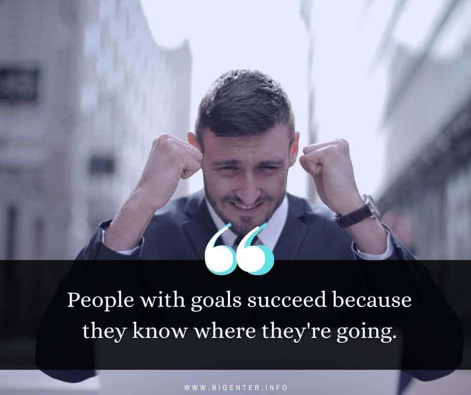 Goal Quotes About Life
