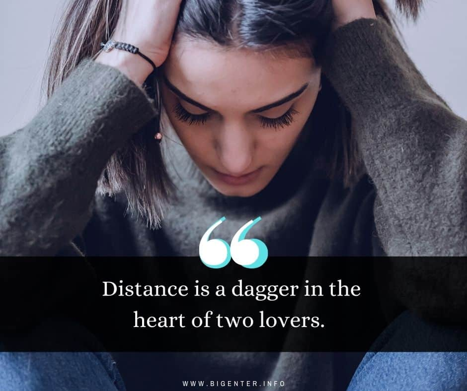 Long Distance Relationship Deep Quotes