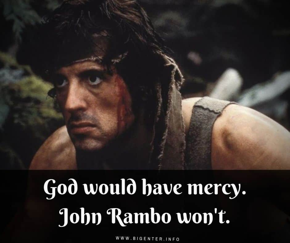 Rambo Quotes About Life