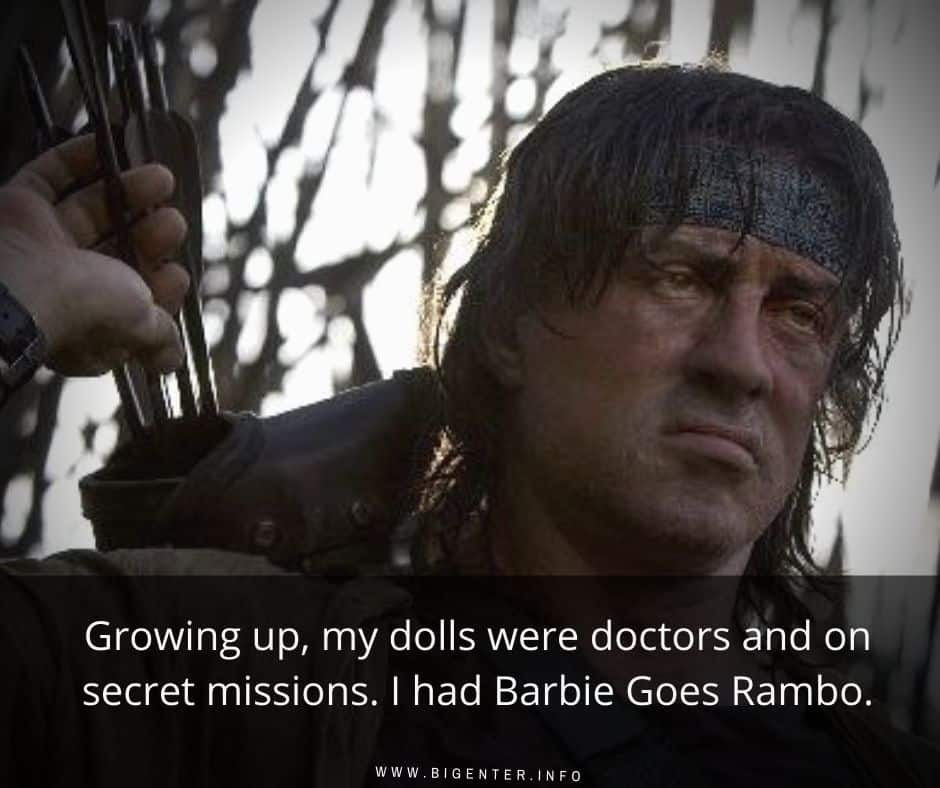 Quotes on Rambo