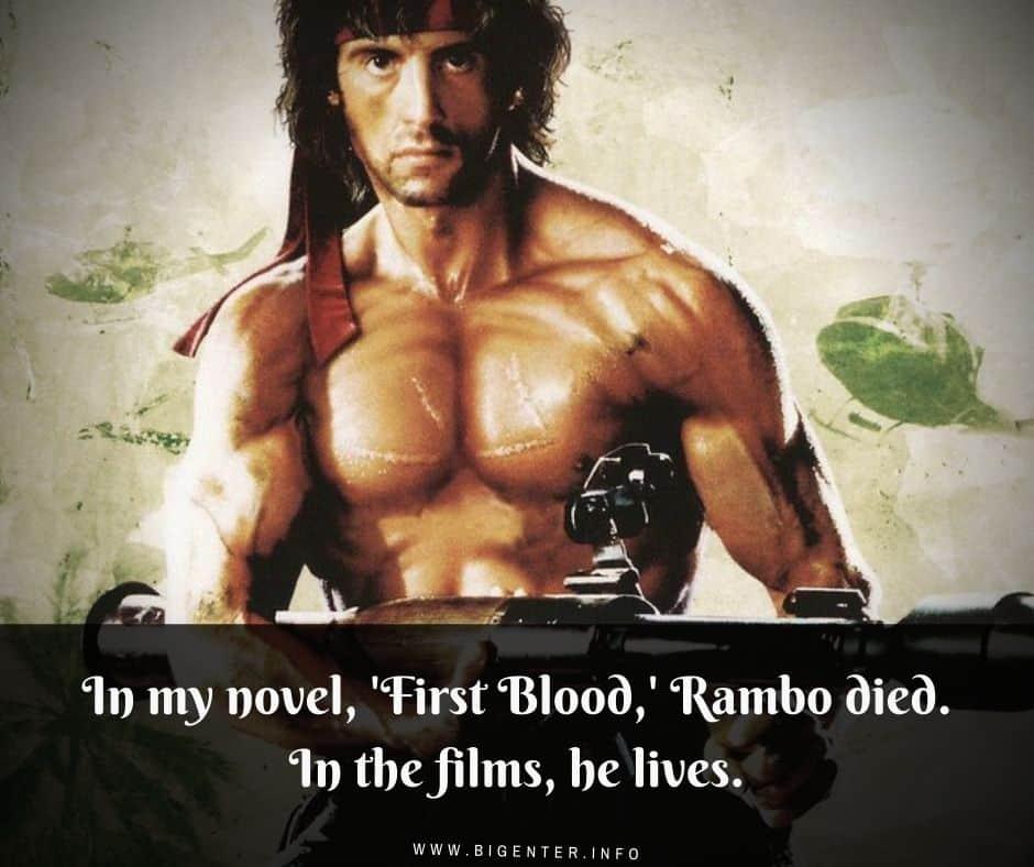 Best Rambo Quotes