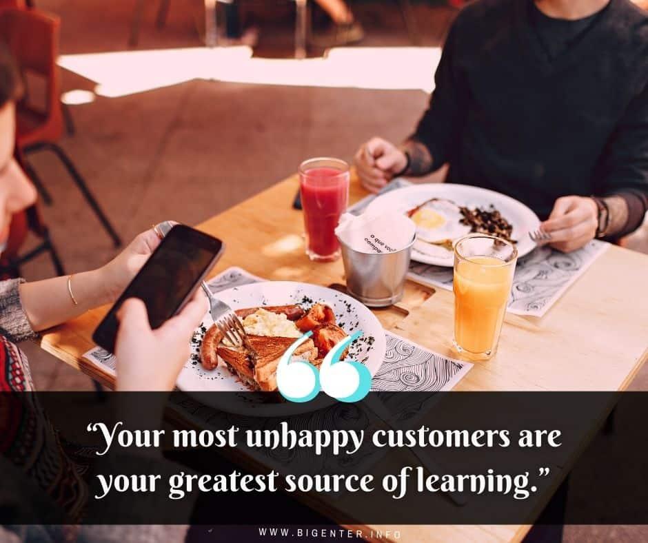 Restaurant Quotes