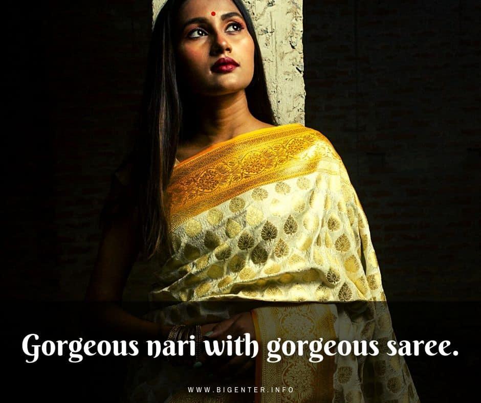 Saree Quotes