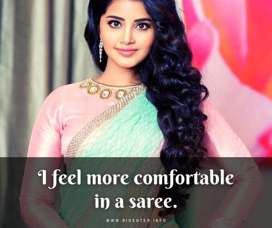Saree Attitude Quotes