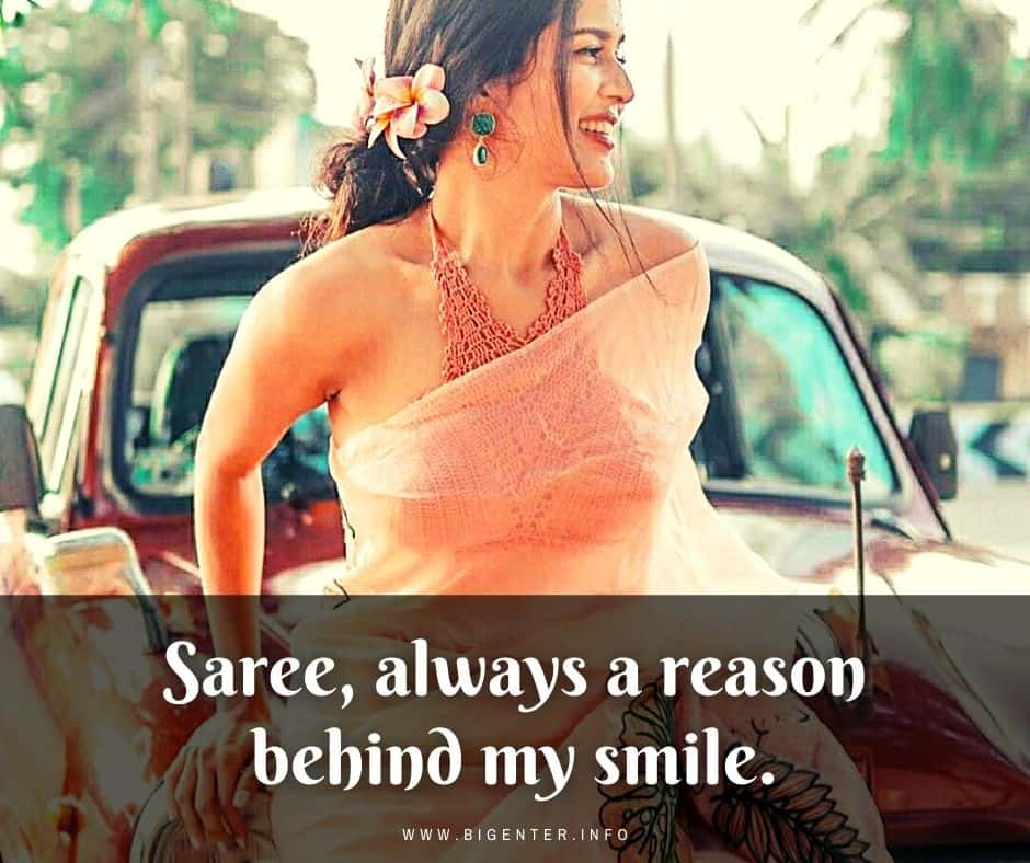 Quotes About Saree Wearing