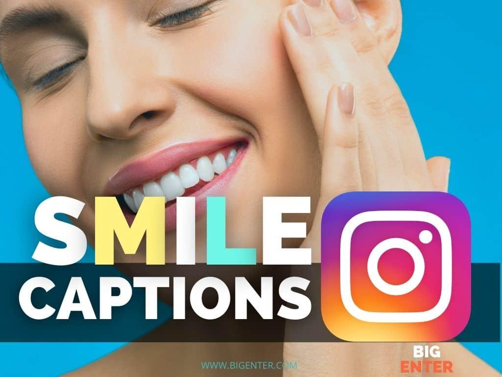 Smile Captions For Instagram
