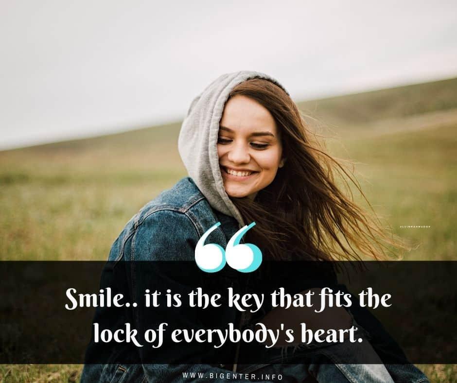 Cute Smile Captions