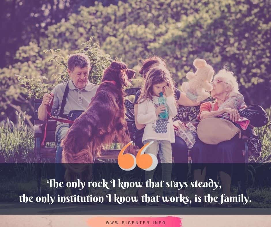 Beautiful Quotes About Family Love