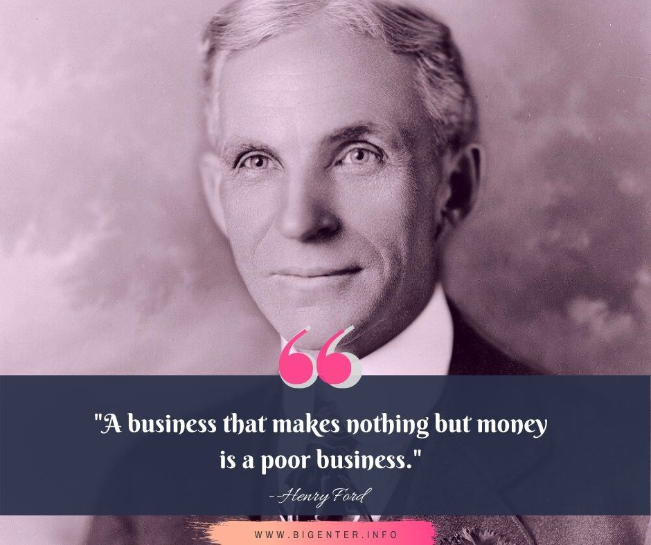 Henry Ford Quotes About Money
