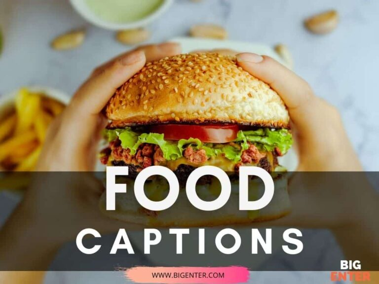 Food Captions