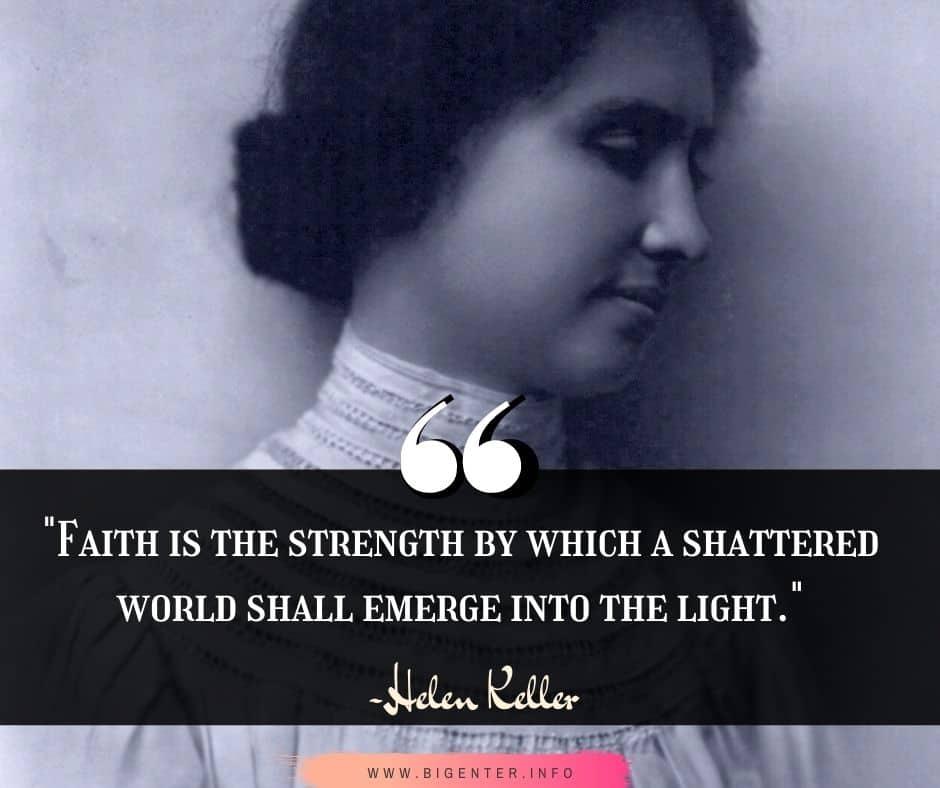 Hellen Keller Quotes